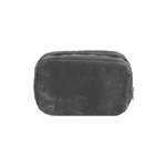 SIWA SQUARE POUCH M BLACK 150
